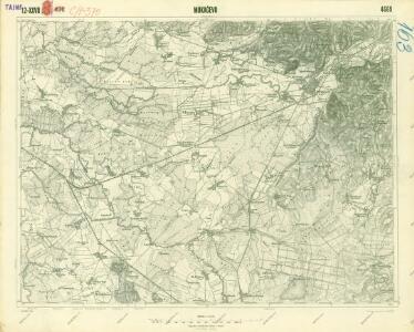 III. vojenské mapování 4669