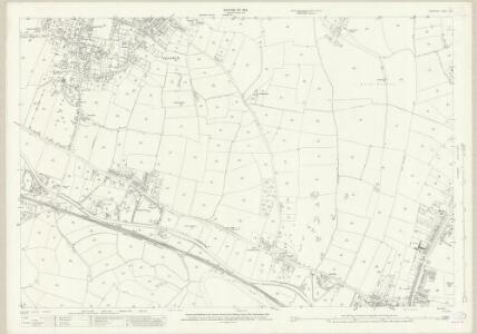 Derbyshire L.15 (includes: Derby; Elvaston; Ockbrook; Spondon) - 25 Inch Map