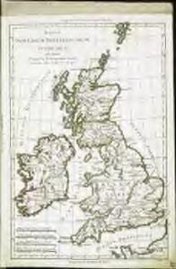 Mappa insularum Britannicarum antiquarum