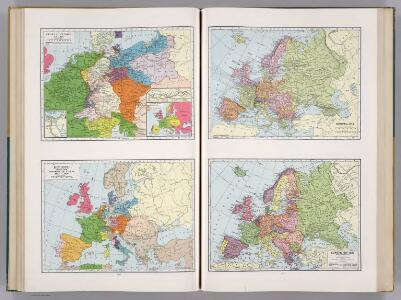 Historical Maps of Europe.