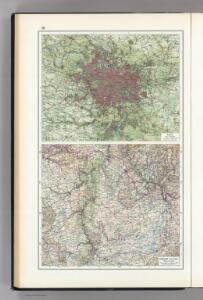 66.  Paris, Lorraine, and Saar.  The World Atlas.