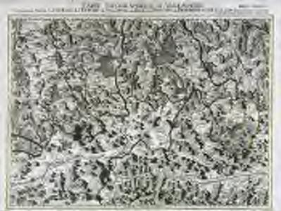 Carte topographique d'Allemagne contenant une partie de la Baviere, de l'eveché de Salzburg, de Tirol