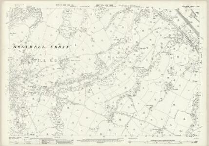 Flintshire VI.10 (includes: Flint; Holywell) - 25 Inch Map