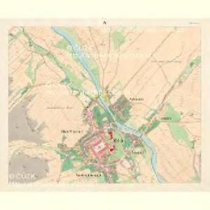 Odrau (Odry) - m2103-1-004 - Kaiserpflichtexemplar der Landkarten des stabilen Katasters