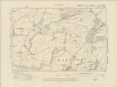 Hampshire & Isle of Wight LXI.NW - OS Six-Inch Map