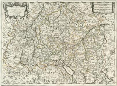 Il Circolo Di Svevia et il Langraviato D'Alsazia