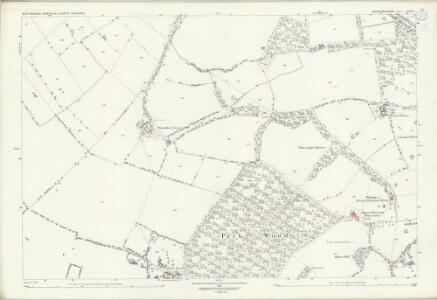 Bedfordshire XVII.11 (includes: Cople; Northill; Old Warden) - 25 Inch Map