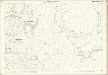 Merionethshire XII.3 (includes: Ffestiniog) - 25 Inch Map