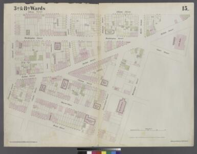 [Plate 15: Map bounded by Pineapple Street, Fulton Avenue, Concord Street, Adams Street, Willoughby Street, Court Street, Montague Street, Henry Street]