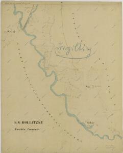 Mapy činžovních pozemků III. sekce třeboňského velkostatku pro obce: Branná, Břilice, Domanín, Herda, Holičky, Kojákovice, Spolí, Třeboň 1