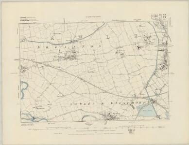 Derbyshire LI.NW - OS Six-Inch Map