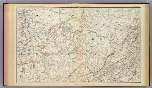 Gen. map VI.