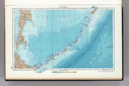 45.  Kuril Islands.  The World Atlas.
