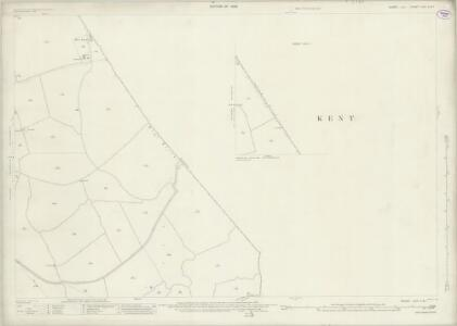 Sussex XLVI.1 & 5 (includes: East Guldeford; Ivychurch; Old Romney) - 25 Inch Map
