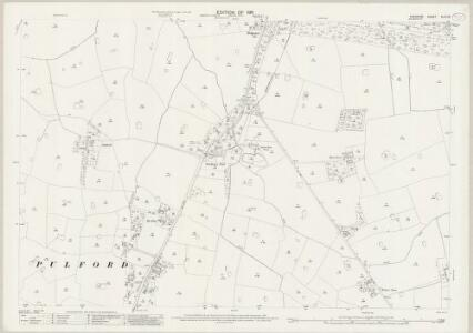 Cheshire XLVI.10 (includes: Dodleston; Eaton; Eccleston; Poulton; Pulford) - 25 Inch Map