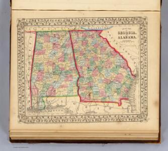 Georgia, Alabama.
