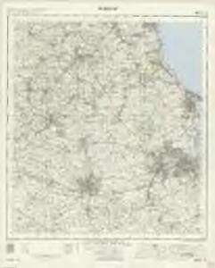 Durham - OS One-Inch Map