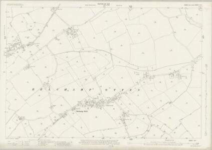 Essex (New Series 1913-) n X.7 (includes: Belchamp Otten) - 25 Inch Map