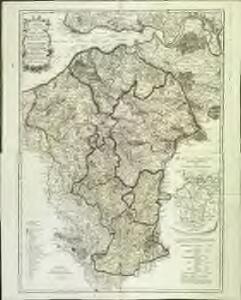 Carte topographique du diocese de Lizieux