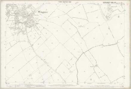 Buckinghamshire XXIX.2 (includes: Tring Rural; Wingrave with Rowsham) - 25 Inch Map