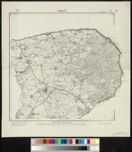 Meßtischblatt 260, 261 : Sagard, 1920