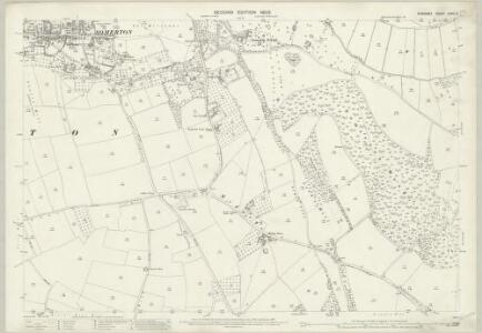 Somerset LXXIII.3 (includes: Charlton Mackrell; Kingsdon; Somerton) - 25 Inch Map