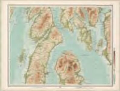 Bute and Arran - Bartholomew's 'Survey Atlas of Scotland'