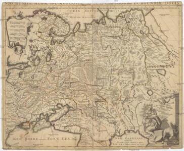 La Russie blanche ou Moscovie divisée suivant l'etendue des royaumes, duchés, principautés &c