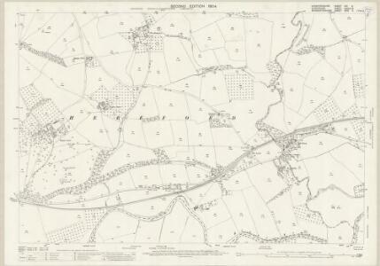 Herefordshire VIII.6 (includes: Burford; Little Hereford; Tenbury) - 25 Inch Map