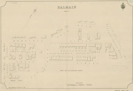 Balmain, Sheet 8, 1889