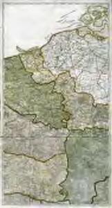 Karte vom Kriegestheater der vereinigten preussischen und östreichischen Armeen in Frankreich in VI. Blättern, [Blatt 1, 2 und 4]
