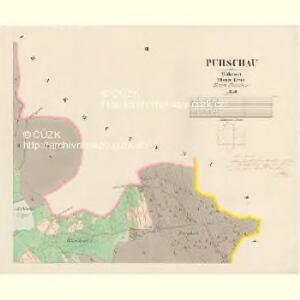 Purschau - c6024-1-003 - Kaiserpflichtexemplar der Landkarten des stabilen Katasters