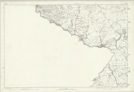 Denbighshire XXIII - OS Six-Inch Map