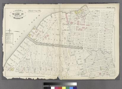 Plate 24: Part of Ward 17. City of Brooklyn.