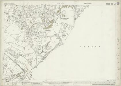 Berkshire L.1 (includes: Frimley; Hawley; Sandhurst; Yateley) - 25 Inch Map