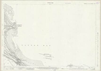 Yorkshire XCIV.6 (includes: Cayton; Lebberston; Scarborough) - 25 Inch Map
