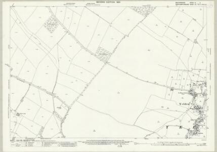 Bedfordshire IV.2 (includes: Chelveston Cum Caldecott; Higham Ferrers; Melchbourne and Yelden; Newton Bromswold) - 25 Inch Map