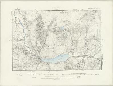 Caernarvonshire XVII.NW - OS Six-Inch Map