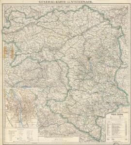 General-Karte von Steiermark