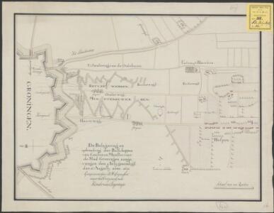De belegering en opbreeking der bisschoppen van Ceulen en Munster voor de stad Groningen ... 1672