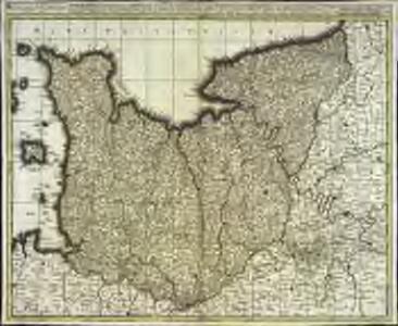 Normannia ducatus, tum superior ad ortum, tum inferior ad occasum, præfectura generalis