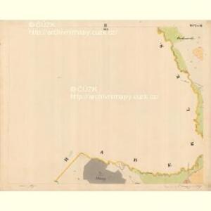 Krzizowitz - c3672-1-002 - Kaiserpflichtexemplar der Landkarten des stabilen Katasters