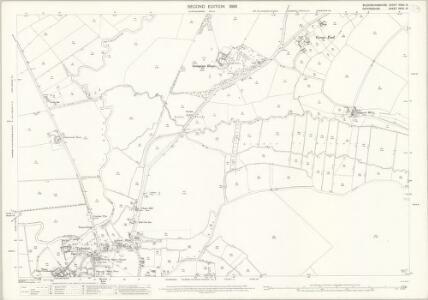 Buckinghamshire XXXII.15 (includes: Haddenham; Long Crendon; Thame) - 25 Inch Map
