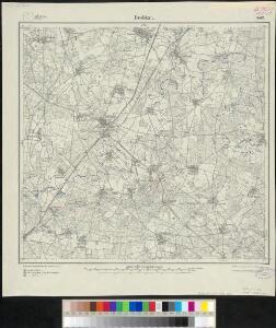 Meßtischblatt 2473 : Drebkau, 1919