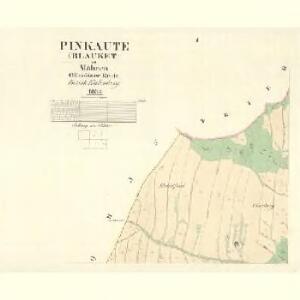 Pinkaute (Blauket) - m2307-1-001 - Kaiserpflichtexemplar der Landkarten des stabilen Katasters