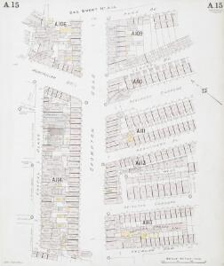 Insurance Plan of London Western District Vol. A: sheet 15