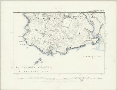 Anglesey IX.SE & XV.NE - OS Six-Inch Map