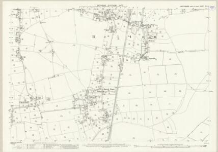 Lincolnshire XVII.15 (includes: Belton) - 25 Inch Map