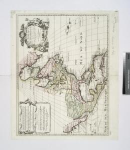 L'Amérique septentrionale: dressée sur les observations de Mrs. de l'Academie Royale des Sciences & quelques autres, & sur les memoires les plus recens / par G. de l'Isle, geographe.