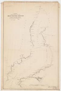 Chart exhibiting the discoveries of the second American-Grinnell-Expedition in search of Sir John Franklin : unrevised from the original material and projected on the spot